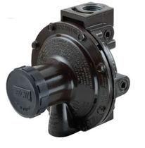 Regulador de presión para gas / monoetapa / de membrana / compacto
