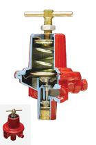 Regulador de presión para gas / de membrana / de dos pisos / de alta presión