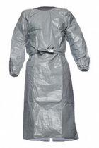 Ropa de protección química / bata / de poliéster / antiestática