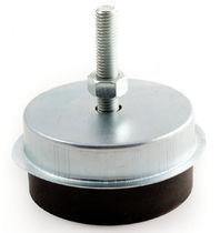 Soporte antivibratorio cilíndrico / de caucho / para soplador / para climatización
