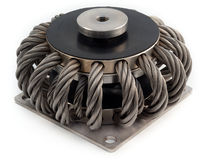 Soporte antivibratorio redondo / de acero / amortiguador de cables metálicos