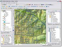 Software de diseño de redes de agua, de alcantarillados y de drenaje pluvial