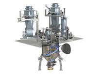 Mezcladora de cinta / continua / de polvo / para la industria alimentaria