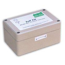 Clinómetro 1 eje / analógico / electrolítico / robusto