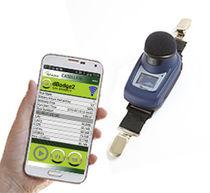Dosímetro de ruido / digital / personal / sin cable