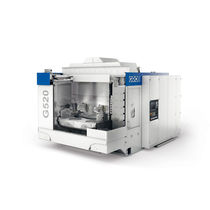 Centro de mecanizado CNC / de 3 ejes / horizontal / de dos husillos