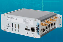 Computadora embarcada / Intel® Atom E3815 / USB / reforzada