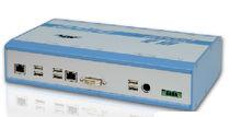 PC embarcado / Intel® Atom / Ethernet / industrial