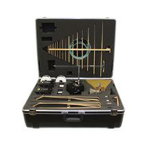Antena log-periódica / de radio / móvil / compacta