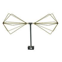 Antena de radio / bicónica / reforzada / plegable