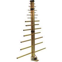 Antena de radio / log-periódica / direccional / reforzada
