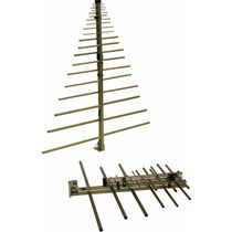 Antena log-periódica / de radio / reforzada