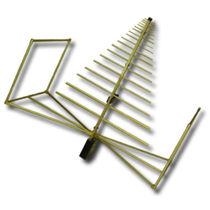 Antena bicónica / log-periódica / de banda ancha / reforzada