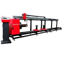 Máquina de corte de metal / de tubos / CNC / portátil