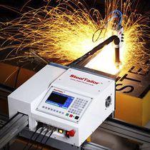 Máquina de corte de acero / por llama / CNC / de alta velocidad
