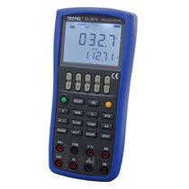 Calibrador multifunción / para sensor de temperatura / de mano / digital
