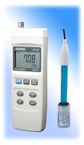 PHmetro portátil / de proceso / con pantalla LCD / con termómetro