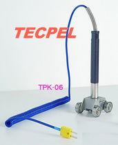 Termopar tipo K / de inserción / para superficies móviles