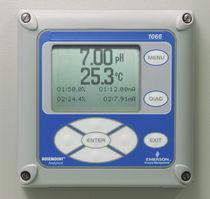 Analizador de oxígeno / de líquidos / de pH / de conductividad