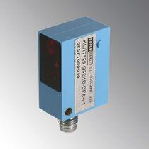 Sensor fotoeléctrico tipo réflex / rectangular / láser