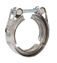 Abrazadera de apriete de acero zincado / con perno / robusta
