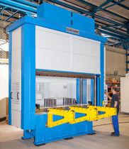 Prensa motorizada / de embutido profundo / CNC / de 4 columnas