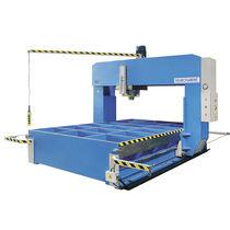 Prensa hidráulica / de enderezar / con cabezal móvil / tipo puente