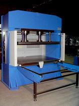 Prensa hidráulica / de vulcanización / de doble efecto / para piezas de material compuesto