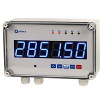 Tacómetro sin contacto / para montaje en panel / con pantalla LED