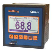 Registrador de datos de temperatura / USB / con pantalla / multicanales