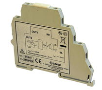 Transmisor de temperatura en riel DIN / RTD / 4-20 mA / USB