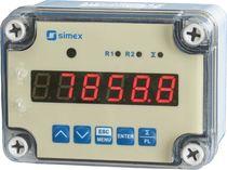 Indicador totalizador de caudal / digital / totalizador