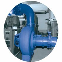 Bomba para aguas residuales / eléctrica / centrífuga / monoetapa