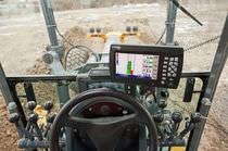 Sistema de control de pendiente / para máquina de obras