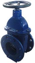 Válvula de compuerta / con volante / de distribución / para aguas residuales