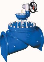 Válvula de globo / con volante / de regulación / para el agua