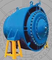 Válvula con mando eléctrico / de regulación de caudal / para el agua