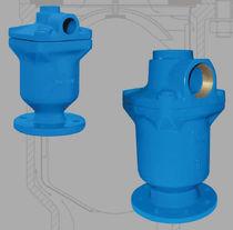 Válvula de distribución / para el agua / con control neumático / de 2/3 vías