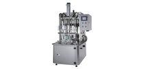 Llenadora de botellas / semiautomática / lineal / de líquidos