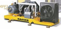 Sobrepresor de pistón / de aire / lubricado / refrigerado por agua