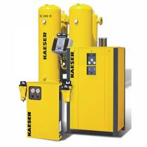 Secador de aire comprimido por adsorción sin aporte de calor / baja presión