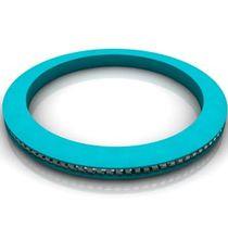 Junta de muelle / circular / de elastómero / para aplicaciones químicas