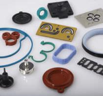 Junta de elastómero / moldeada / a medida