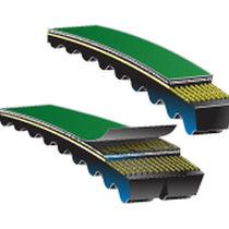 Correa de transmisión dentada / trapezoidal / para la industria / flexible