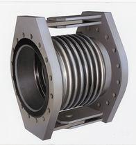 Compensador de dilatación de metal / redondo / de brida / para la industria química