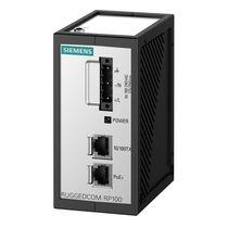 Alimentación eléctrica AC/DC / externa / Power over Ethernet / de pie
