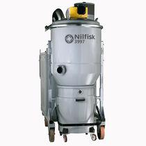 Aspirador de agua y polvo / trifásico / industrial / de acero inoxidable
