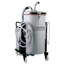 Aspirador de aceite y virutas / trifásico / industrial / con separador sólido-líquido