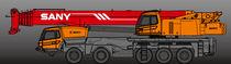 Camión grúa / de 5 ejes