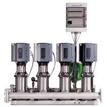 Bomba eléctrica / para el sector de la construcción / con controlador de velocidad / de sobrepresión